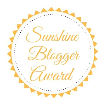 April Does That Nominated for the Sunshine Blogger Award